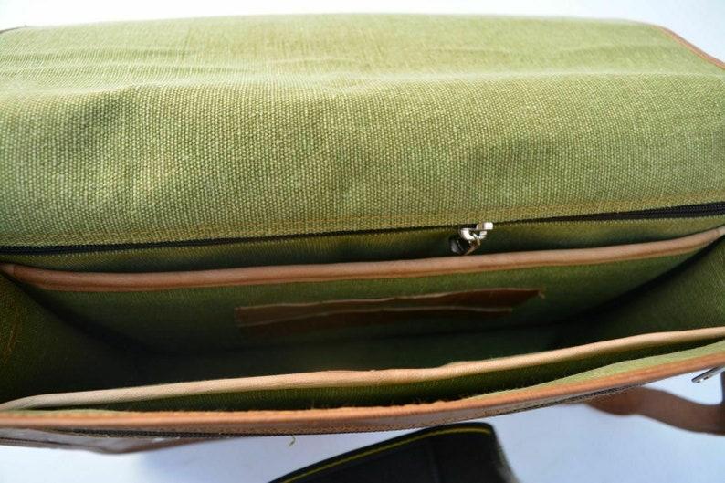 Men Briefcase Satchel Women Office Bag PREMIUM TEXAS LEATHER Messenger Bag Leather Laptop Bag Crossbody Bag Gift ideas for him her