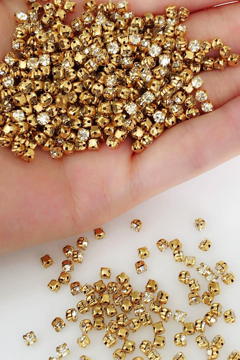 100x 2mm Eyelets Silver Gold  Bronze Scrapbook Leather Craft Doll Accessory 3 Colours Available
