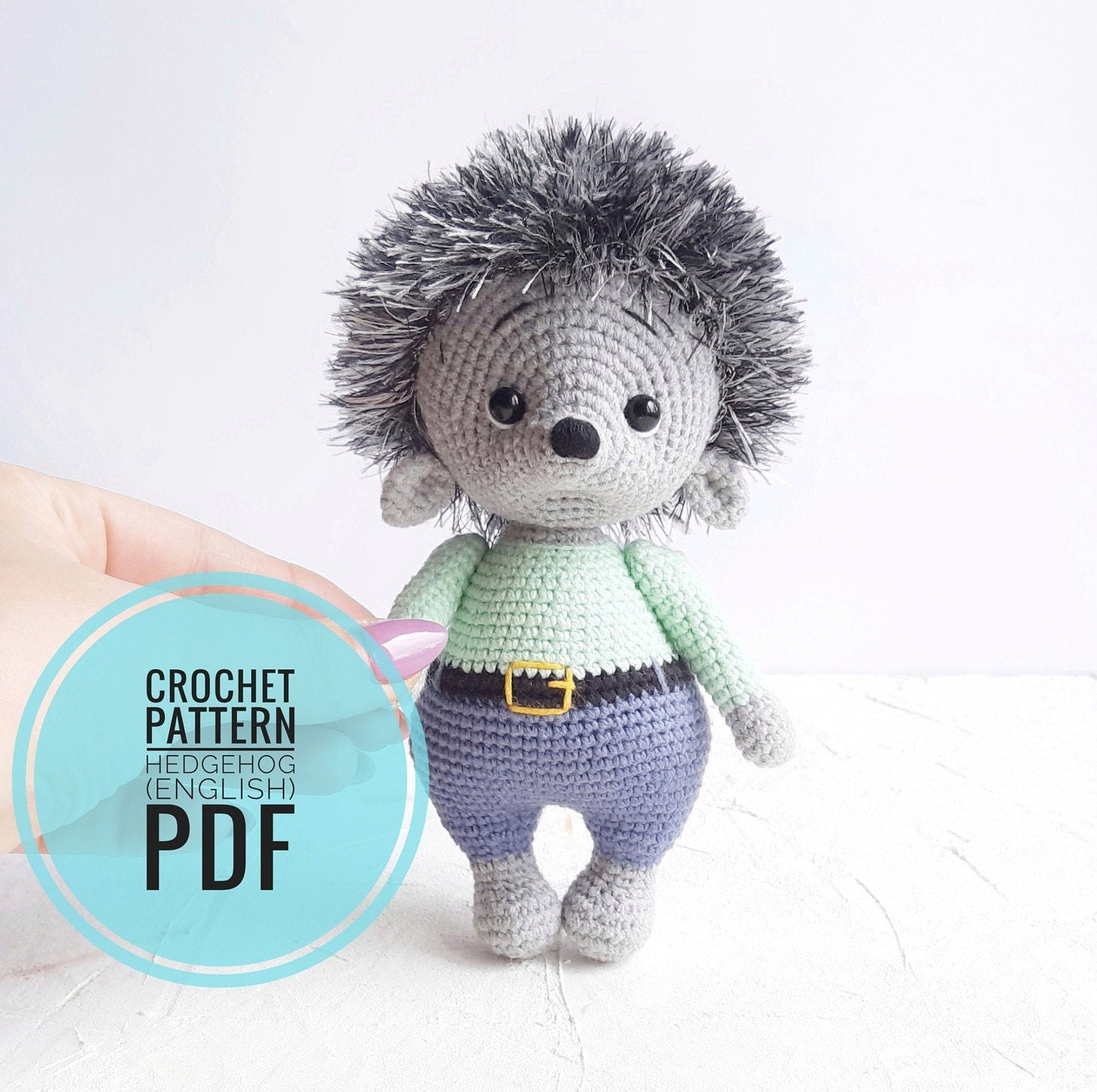 Crochet animals. Amigurumi pattern by @sasha.koffer in 2020 (With ... | 1452x1458