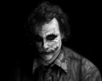 24e946794 Heath Ledger-The Joker