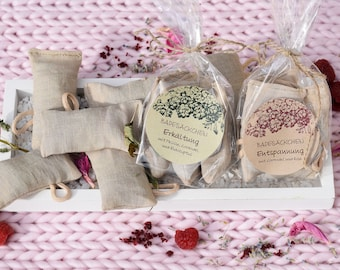 Bath bag with lavender and rose - Relaxation