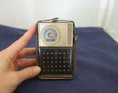 Vintage Hilton 6 Transistor Radio High Fidelity TR-6A7 1960 Japan
