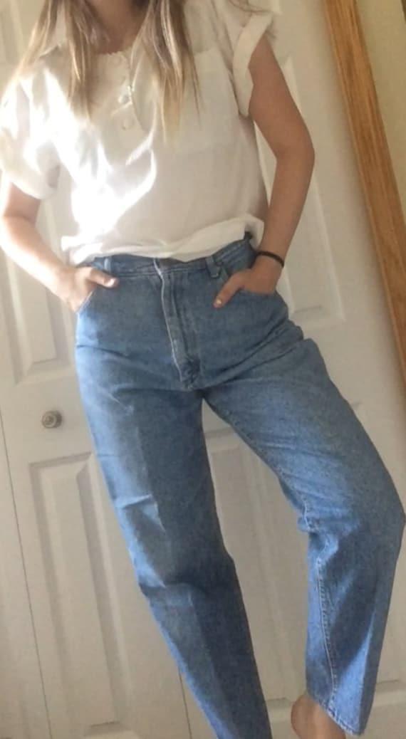 Vintage 1980s High Waisted Lee Denim Jeans