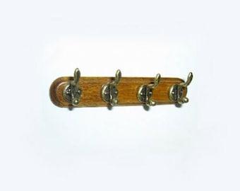 Dollhouse Miniature Fancy Gold Wall Hook//Plant Hanger #JLM198