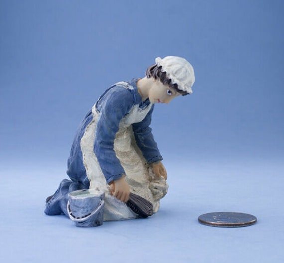 1:12 Scale VERY NICE Dollhouse Miniature Glass Fishbowl Vase #WCDA97