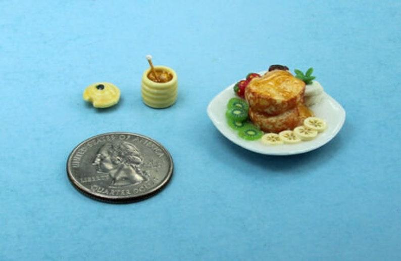 Very Nice Dollhouse Miniature 1:12 Scale Filled Porcelain Fruit Bowl #FR001