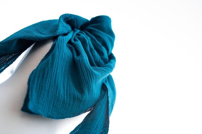 XL muslin cloth a universal accessory as a scarf parero image 0