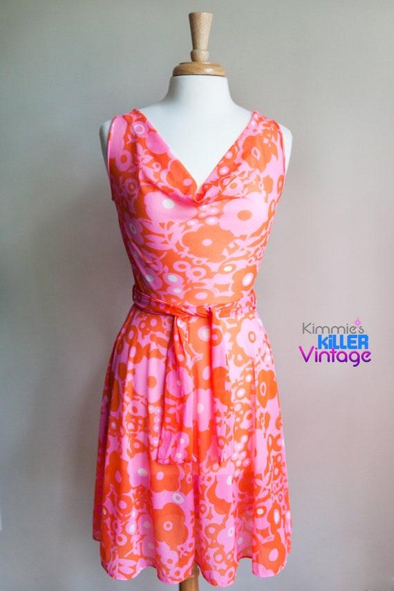 Vintage 1960s Lilly Pulitzer dress, 1960s dress, h