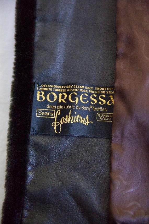 70s vintage faux fur coat, vintage faux fur coat,… - image 8
