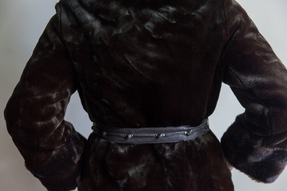 70s vintage faux fur coat, vintage faux fur coat,… - image 4
