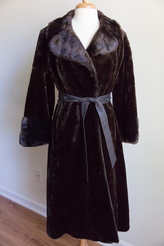 70s vintage faux fur coat, vintage faux fur coat,