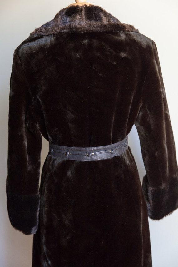 70s vintage faux fur coat, vintage faux fur coat,… - image 6
