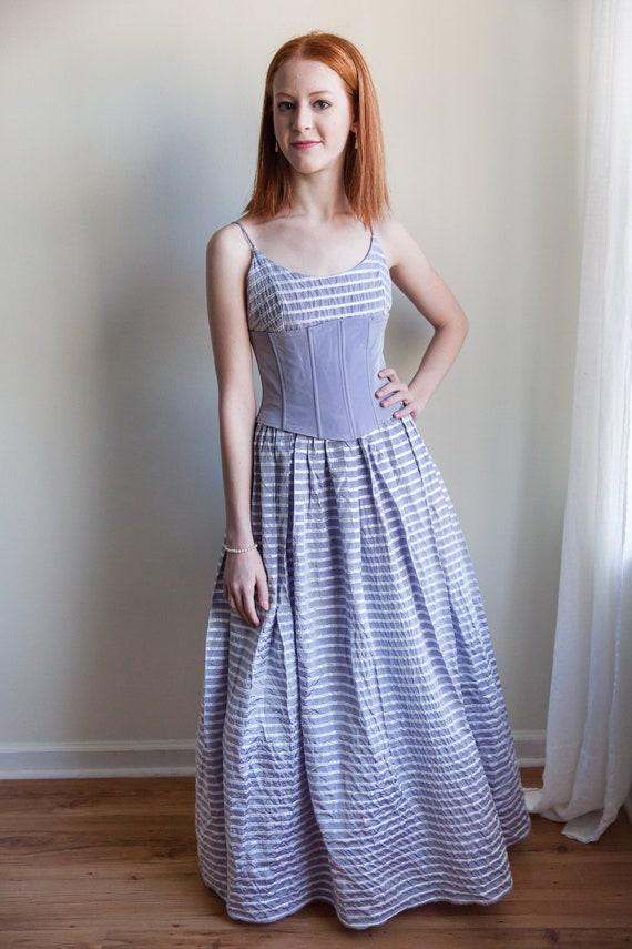 Vintage 1980s Gunne Sax corset dress, Gunne Sax, … - image 4