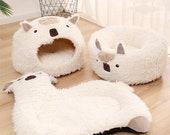 Pet Bed Warm Plush Cat Dog Bed,Cat cave ,cat house ,pet furniture