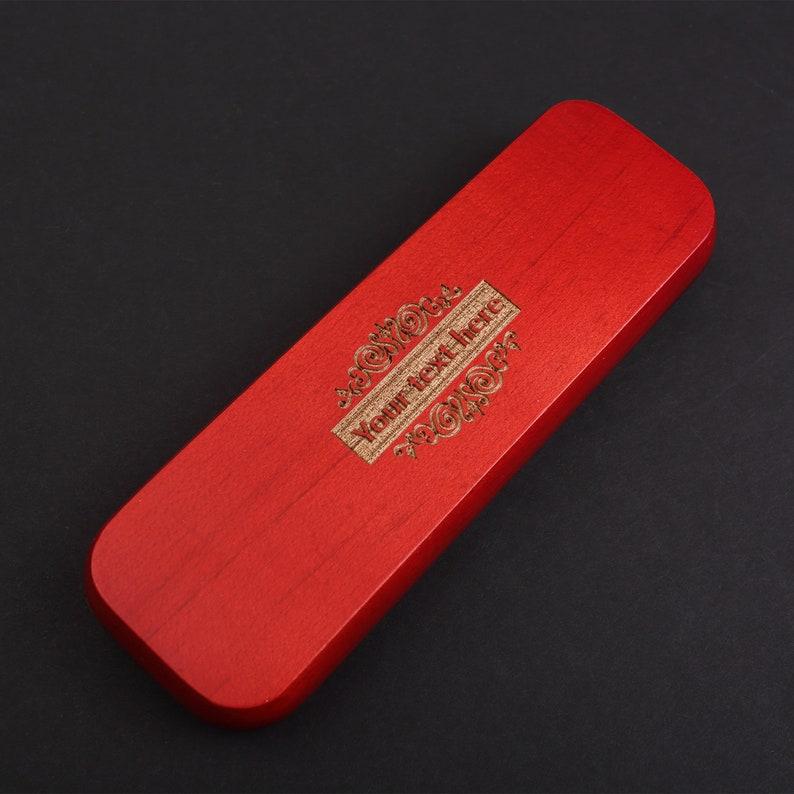 Wood Pen Set  Monogrammed Pen Set Engraved Pen Case  Personalized Pen Set with box Desktop Pen Holder Boss Gift groomsmen gift ideas