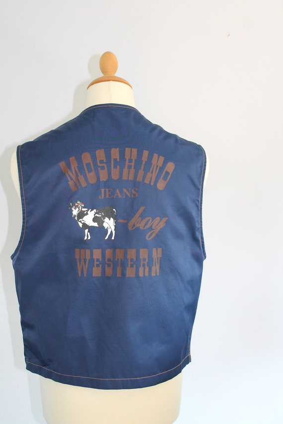 Moschino Cowboy mens vest
