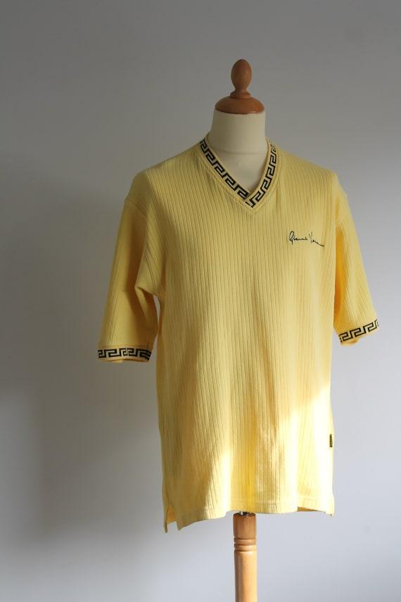 Yellow Versace T-shirt