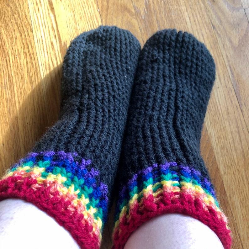 pansexual Love is Love LGBT Slipper socks LGBTQ+ Pride Socks Slipper socks for gay Cozy Socks and bisexual Pride merchandise