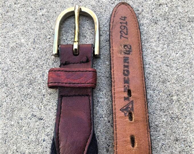 Vintage Leegin Belt