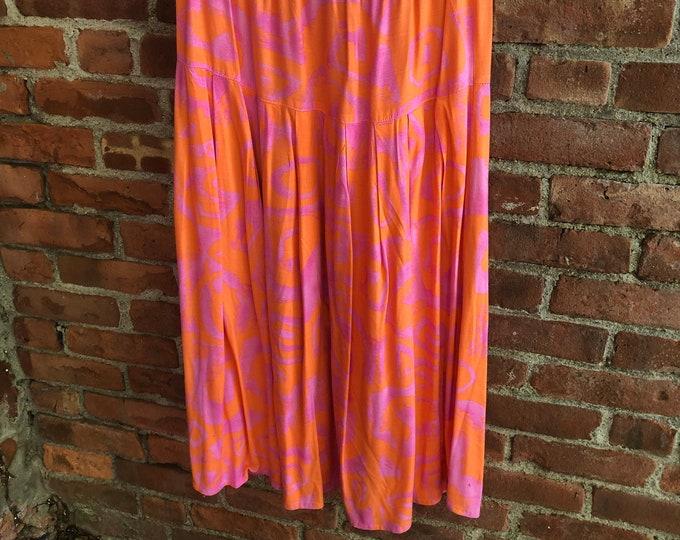 1980's Vintage Summer Dress
