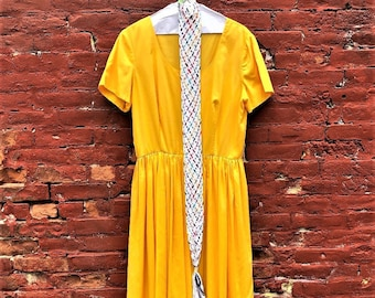 70's / Early 80's Vintage Dress by Caron of Chicago in Excellent Condition