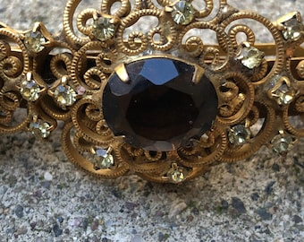 Hobe Barrette Made in France Early 20th Century