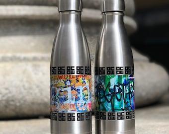 OCOW Street Art Stainless Steel Bottles