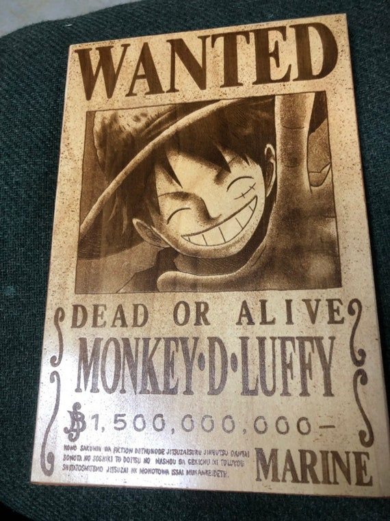 One Piece Wanted Poster Series