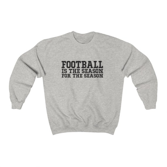 FOOTBALL Is The Reason For The Season Off Shoulder Sweatshirt Cozy Comfy Football Sweater