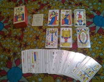Vintage tarot deck | Etsy