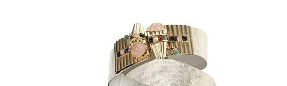 Vintage Judith Leiber Adorned Belt