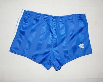 d606a79de5e677 Adidas Trefoils Vintage Men's Football/Running Short Shorts Retro 70s, Size  S, D 3, GB 32