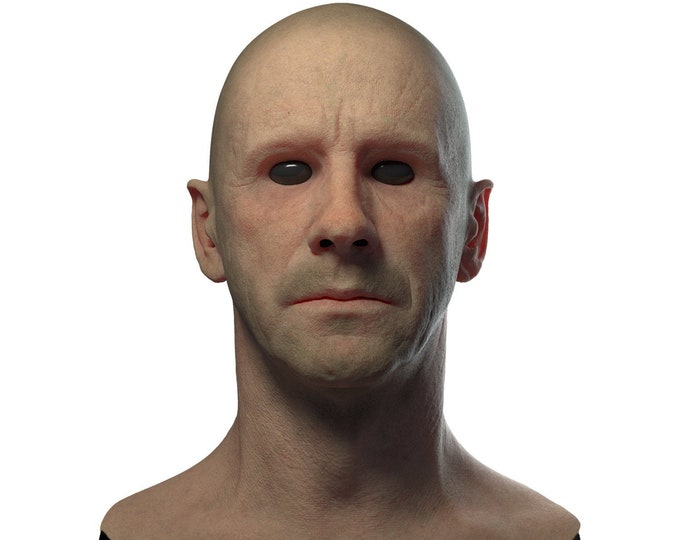 Silicone Mask | Realistic Man Disguise Mask
