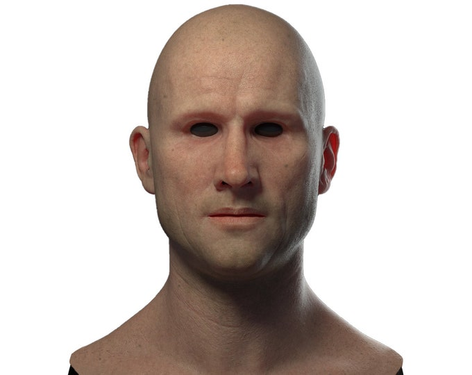 Silicone Mask | Realistic Young Guy Disguise Mask