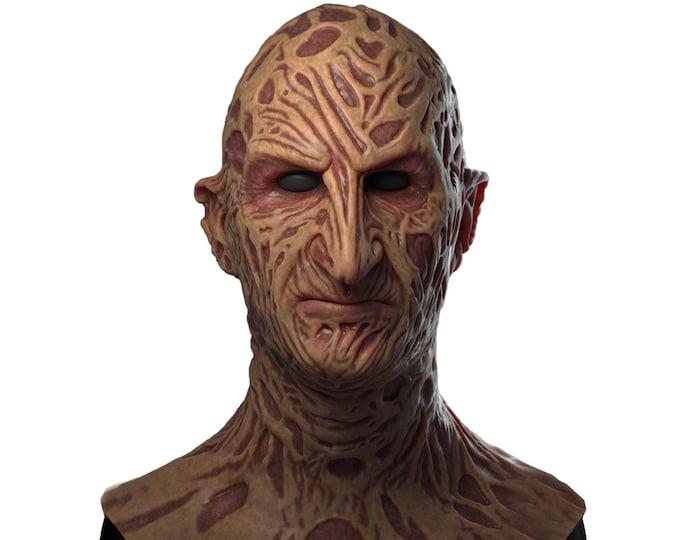 Silicone Mask | Freddy Krueger (VS) Halloween Mask