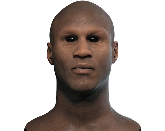 Silicone Mask | Realistic Black Man Disguise Mask