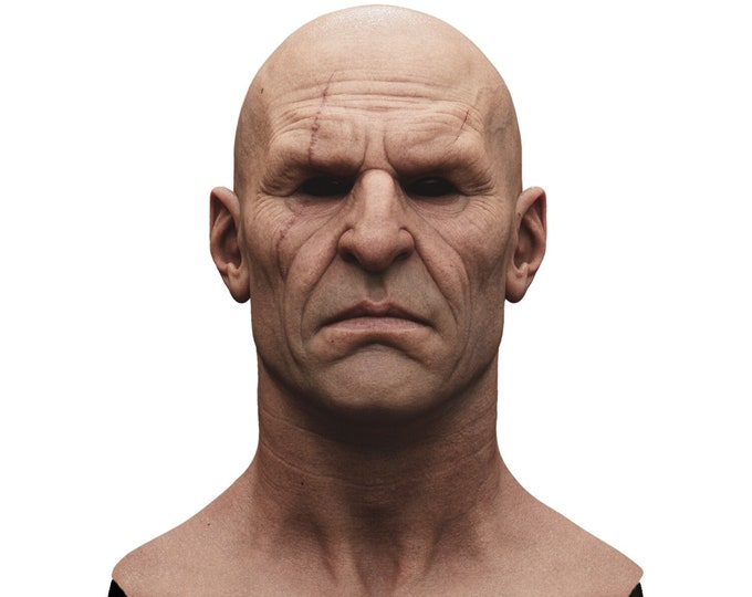 Silicone Mask | Realistic Fighter Guy Disguise Mask