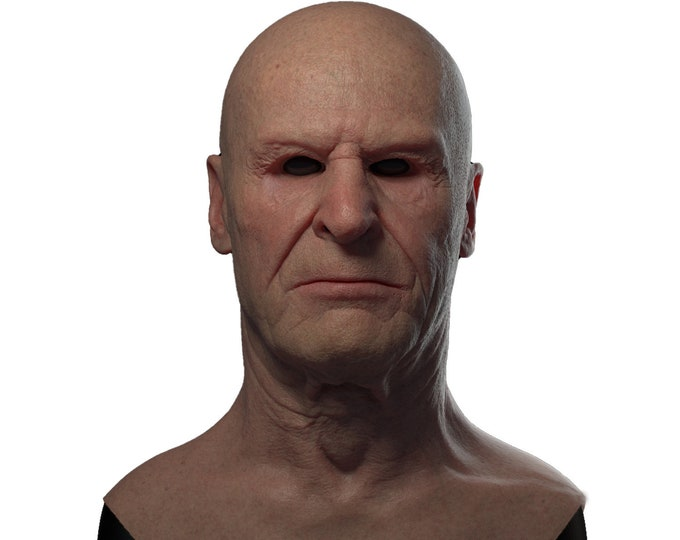 Silicone Mask | Realistic Old Man Disguise Mask