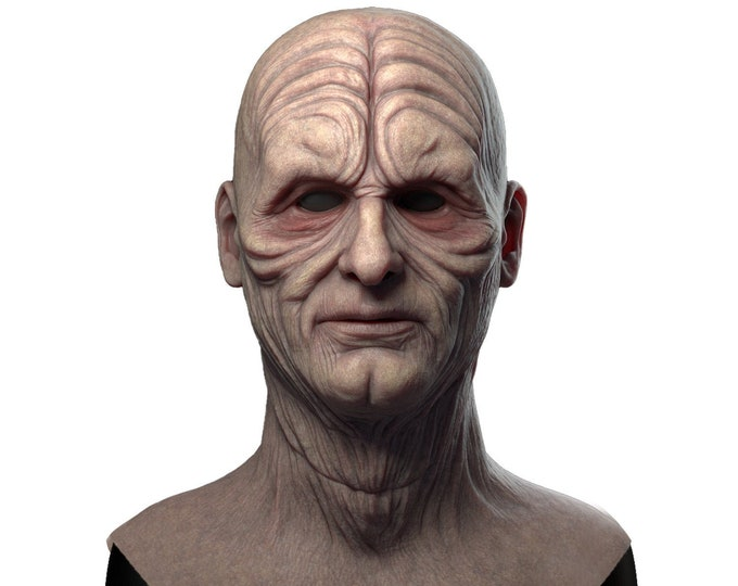 Silicone Mask | Darth Sidious Emperor Palpatine Star Wars Halloween Mask