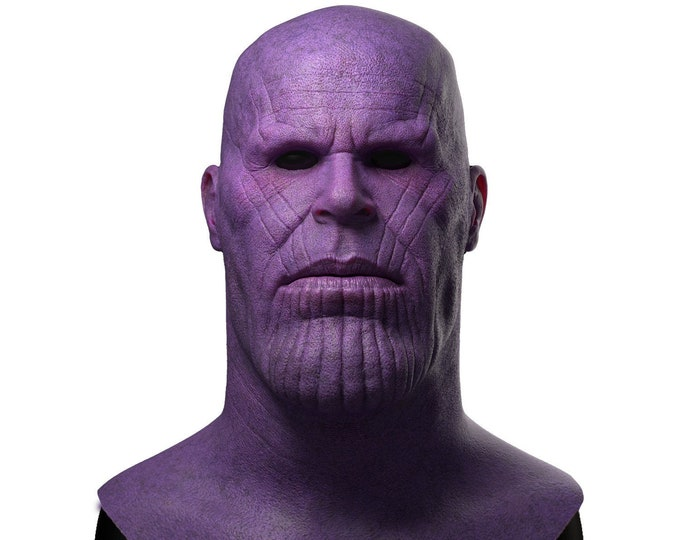 Silicone Mask | Thanos Avengers Halloween Mask