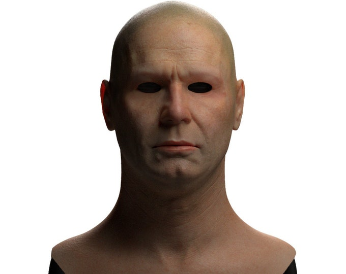 Silicone Mask | Realistic Middle Aged Man Disguise Mask