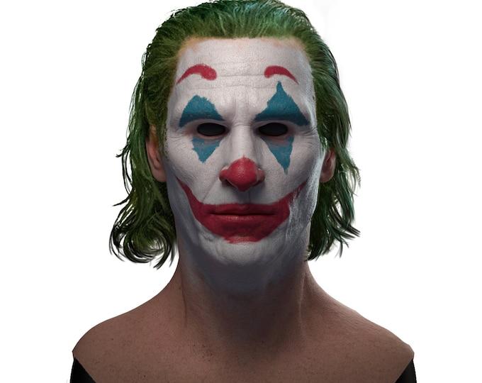 Silicone Mask | Joaquin Phoenix Joker Halloween Mask