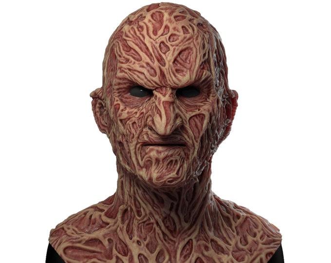 Silicone Mask | Freddy Krueger Halloween Mask