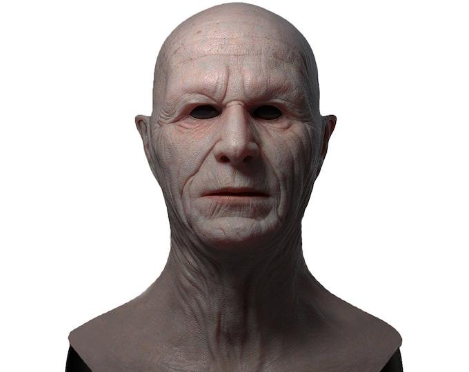 Silicone Mask | Realistic Dracula Halloween Mask