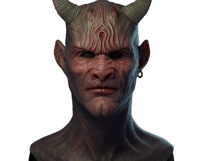 Silicone Mask | Realistic Demon Halloween Mask