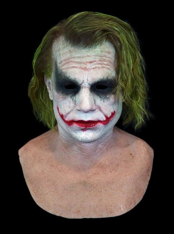 Silicone Mask Heath Ledger Joker