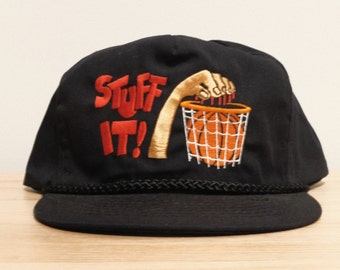 the latest 2046b 1ba7c Vintage Basketball Hat