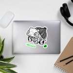 001 - Pokemon Skeleton Bulbasaur - JUMBO Vinyl Sticker Kit