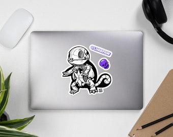 007 - Pokemon Squirtle Skeleton - JUMBO Vinyl Sticker Kit