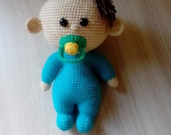 Amigurumi Doll Pacifier Baby Free Crochet Pattern – Crochet.msa ...   270x340